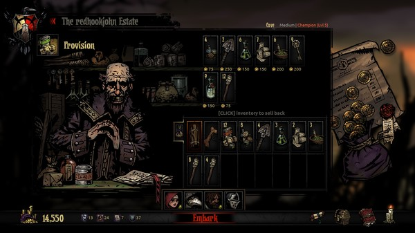 Screenshot 13 of Darkest Dungeon