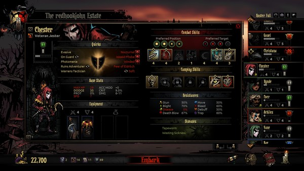 Screenshot 3 of Darkest Dungeon