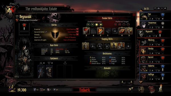 Screenshot 23 of Darkest Dungeon