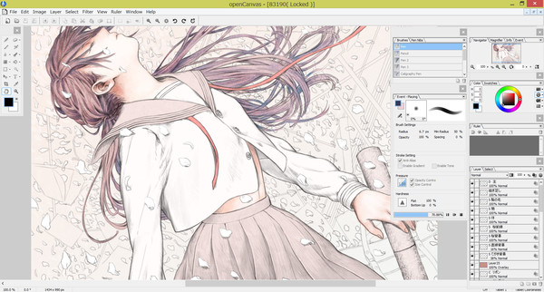 Screenshot 3 of openCanvas 6
