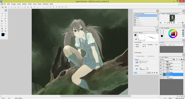 Screenshot 5 of openCanvas 6