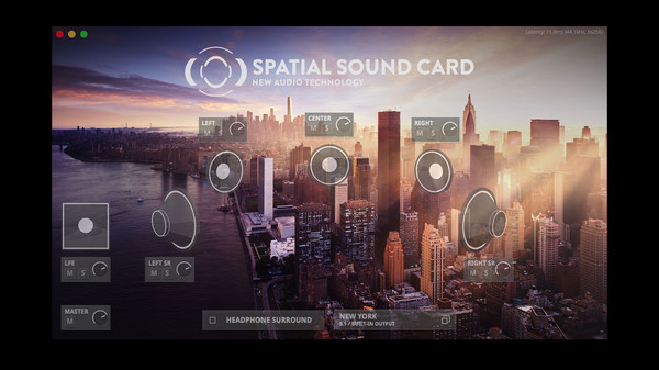 Screenshot 2 of SPATIAL SOUND CARD