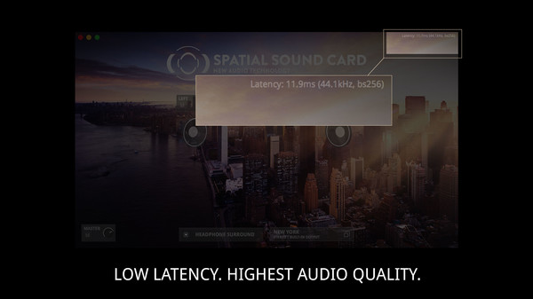 Screenshot 8 of SPATIAL SOUND CARD