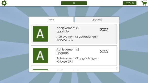 Screenshot 3 of Achievement Clicker