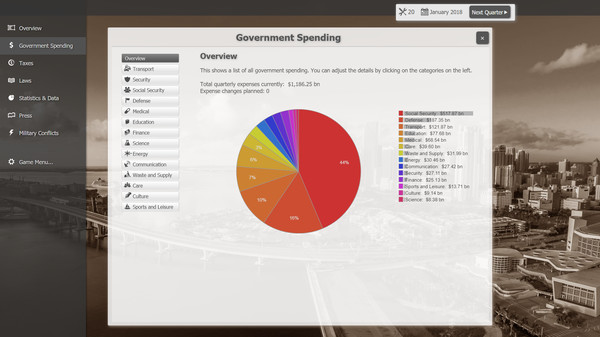 Screenshot 2 of Government Simulator