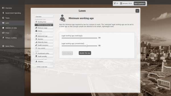 Screenshot 7 of Government Simulator