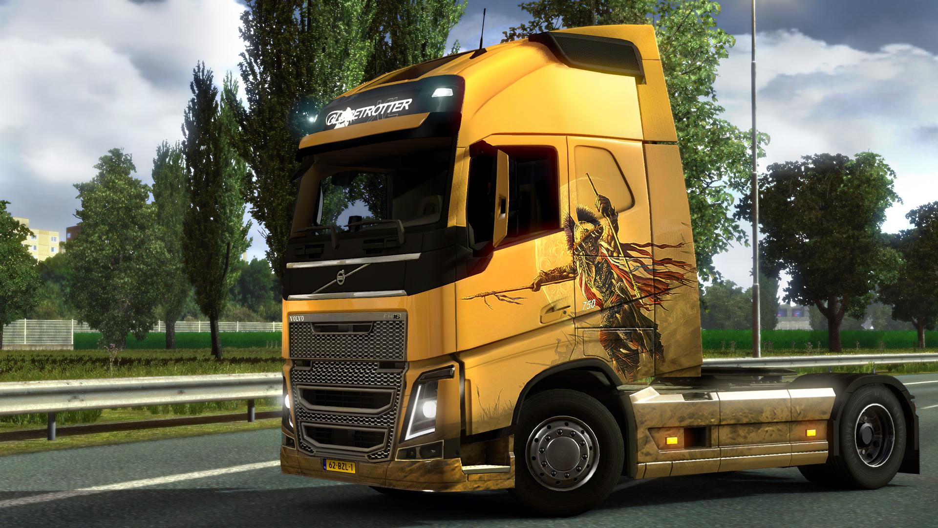 Euro Truck Simulator 2 - Spanish Paint Jobs Pack Download Free