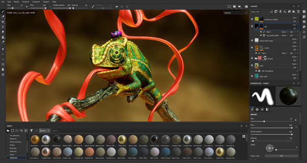 Screenshot 1 of Substance Painter 2018
