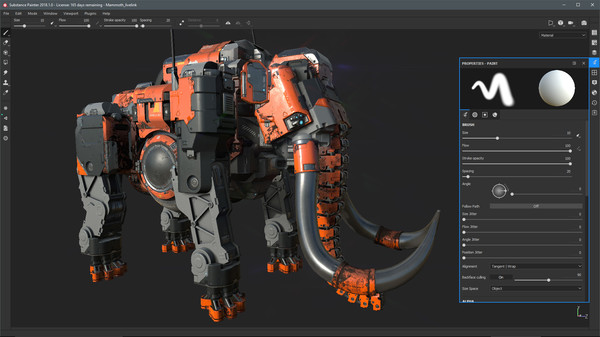 Screenshot 3 of Substance Painter 2018
