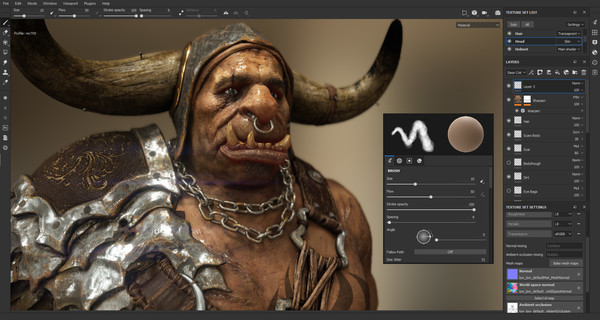 Screenshot 4 of Substance Painter 2018