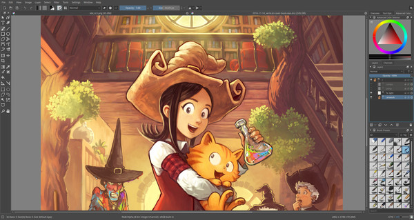 Screenshot 2 of Krita