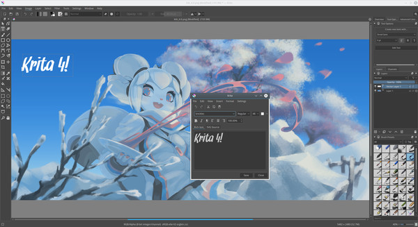 Screenshot 5 of Krita