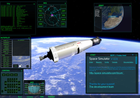 Screenshot 2 of Space Simulator