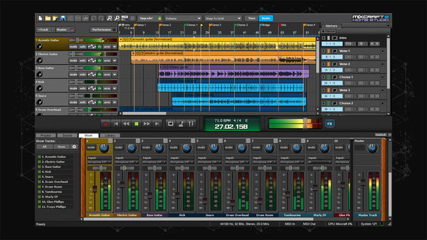 Screenshot 3 of Mixcraft 8 Home Studio