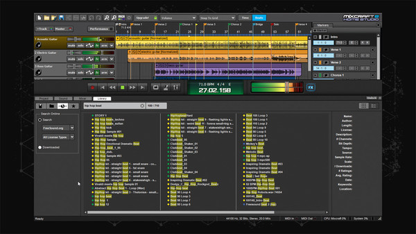 Screenshot 4 of Mixcraft 8 Home Studio