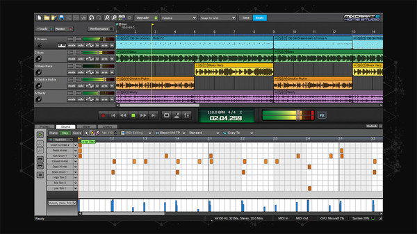 Screenshot 5 of Mixcraft 8 Home Studio