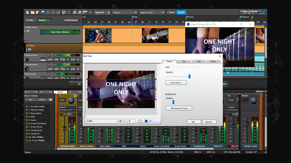 Screenshot 6 of Mixcraft 8 Home Studio