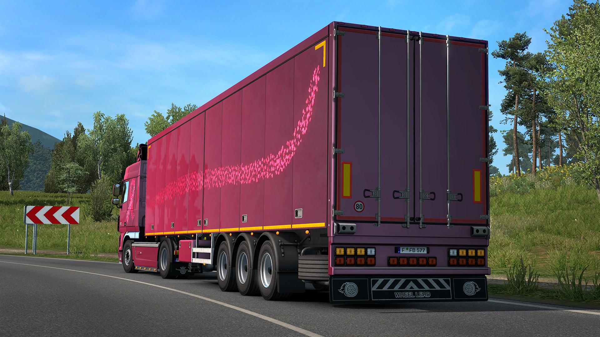 Euro Truck Simulator 2 - Pink Ribbon Charity Pack Download Free